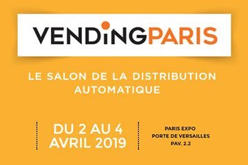 Salon Vending Paris - Avril 2019